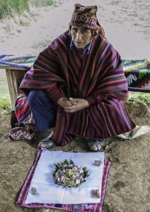 shaman with despacho